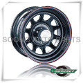 "Daytona-Non Beadlock Wheels GS-20101 Steel Wheel from 15"" to 17"" with different PCD, Offset and Vent hole"