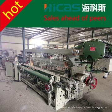 Qingdao HICAS Weberei Shuttles Rapier Webstuhl Textilmaschinen Hersteller