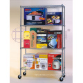 NSF Chrome Metal Wire Supermarket Grocery Display Shelf Rack Factory