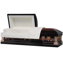 Jeff Bronze Square Corner Us Casket Coffin