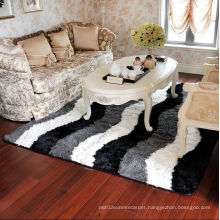Home Textile Carpet Living Room Dercor 3D Silk Carpet Rugs