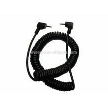 Cable en espiral de audio 2.5mm TRS (ERC484)
