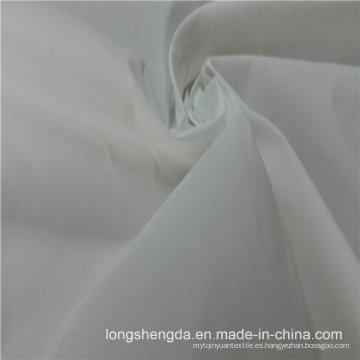 Resistente al agua y resistente al viento Anti-Static rompevientos tejidos 100% tela de poliéster tela gris tela gris (E079)