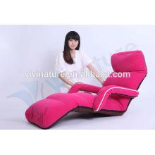 Home Bequeme Portable Legless Lie Einzelschlafcouch Moderne Indoor Einstellbare Wasser Abstoßen Armlehne Stuhl Stil Boden Sofa