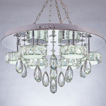 China Gold Supplier for for Modern Chandeliers led modern crystal lighting chandelier export to Spain Factories