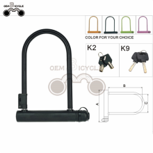 long shackle hardened U shackle lock bike lock