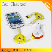 Dual USB Car Chargers for iphone smart phones WF-102