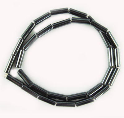 Perles Tube Hématite 4X13MM