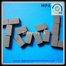 Segmentos de diamante para granito de mármore