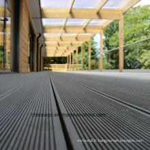 Decking de WPC de bois extérieur durable et de haute qualité à prix bas durable