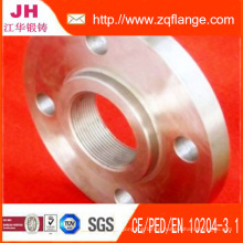"10"" Threaded Flange and P235gh"