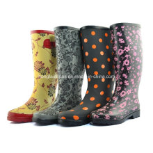 Ms Stereo Printing Rubber Boots