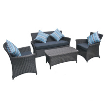 Outdoor Wicker Sofa Set Garden Rattan Patio Lounge Furniture