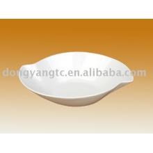 Tazón de sopa de porcelana de 10 pulgadas al por mayor directo de fábrica