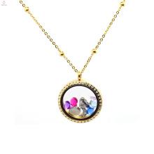 Fashion18kgp personalizado cadeia de colar de rolo