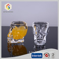 Tazza di vetro 50 ML Crystal Skull Head Shot