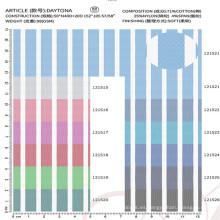 tela de spandex de nylon de algodón de alta calidad para la camisa de vestir