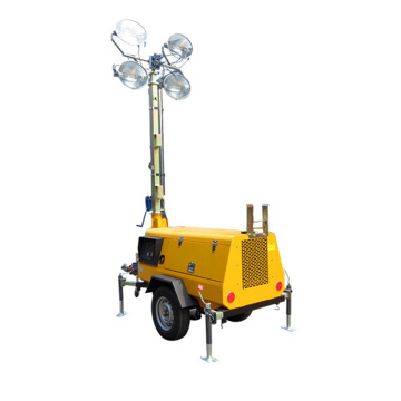 9m Height Light Towers with LED Lamps