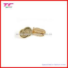 Kundenspezifisches glänzendes Gold überzogenes Pin-Abzeichen