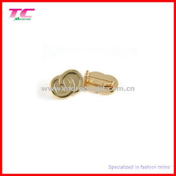 Custom Shiny Gold Plated Pin Badge