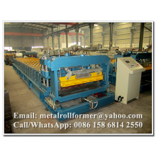 Corrugated Aluminum Metrocopo Step Tile Roofing Sheet Corrugation Machine