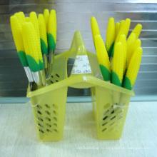 Набор ножей для столовых приборов из нержавеющей стали 24PCS