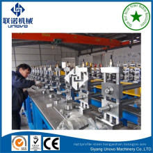 solar steel hat profile roll forming machine