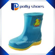 Симпатичные матовые Дети резиновые ботинки дождя