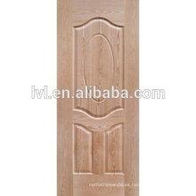 MDF piel de puerta moldeada