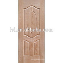 Natural teak HDF moulded door skin