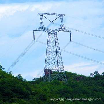 220kv Oxytropis Type Linear Power Transmission Steel Tower