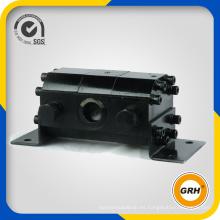 Motor hidráulico divisor de flujo hidráulico de 10 secciones máx.
