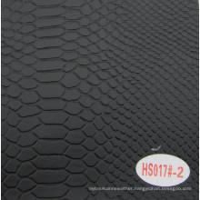 Hot Sale Faux Salon Seat Leather Decorative Leather Hs017