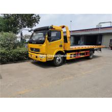 Camion de treuil de grue de récupération 4t grue