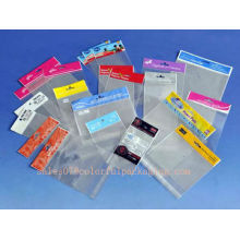 bolsa de teléfono inteligente / auricular / embalaje de celofán / bolsas de polietileno personalizadas