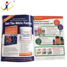 Personnalisé! Brochure cosmétique service d'impression catalogue conception brochure d'impression