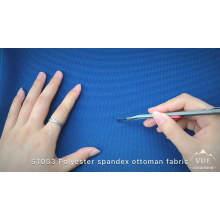 Tissu polyester et spandex tricoté dans le style ottoman pour gants de moto sport