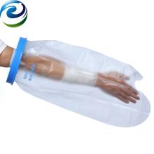 Protecteurs imperméables de couverture de bras de pansement de blessure de joint élastique de silicone