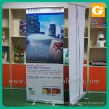 Алюминиевый потяните вверх знамя сверните стенд дисплея для торговой выставки рекламы