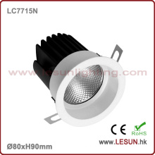 La vente chaude 8W COB LED s'allument vers le bas pour l'hôtel LC7715n