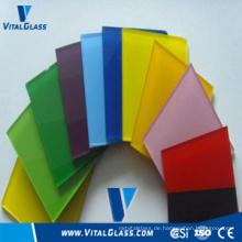 3mm, 4mm, 5mm Farbe lackiertes Glas