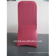 housse de chaise en spandex rose / rose vif, CTS685, pour toutes les chaises