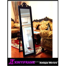 carving patterns wood frame mirrors as bedroom furniture