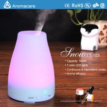 Aromacare venda quente no umidificador de aroma de amazon com luz colorida