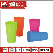 Colorful food grade 640ml plastic cup drinking cup