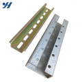 Peso do canal de aço C do aço Unistrut frio de baixo preço