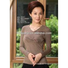 Suéter de cachemira personalizado de mujer moderna