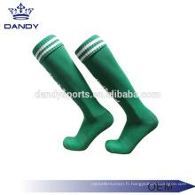 Logos personnalisés disponibles chaussettes de football