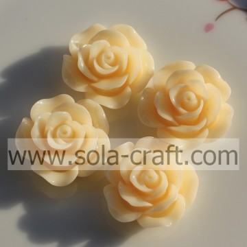 Acrylic Solid Rose-shaped Beads Diamond for Key Chains or Jewelry for Children.