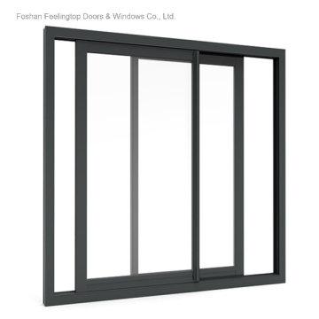 Ventanas corredizas de aluminio múltiples de alta calidad (FT-W126)